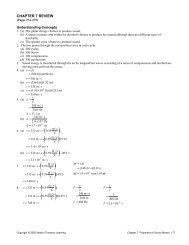 Unit 2 SPH3U Review Solutions - ClassNet