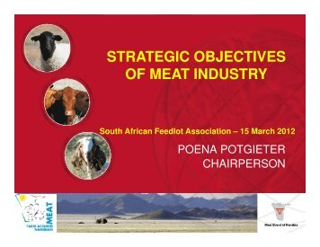 Download Presentation - South African Feedlot Association