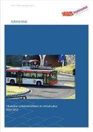 Tiltaksplan kollektivtrafikken sin infrastruktur 2010-2013 - Hordaland ...