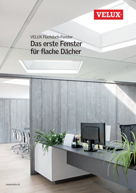 Velux Flachdach-Fenster
