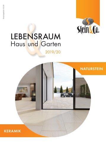 """Stein & Co. """"Freiraum & Garten"""" 2019/2020"""