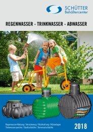 Schütter Regenwasser – Trinkwasser – Abwasser 2018