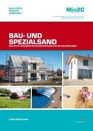 Min2C Bau- und Spezialsand