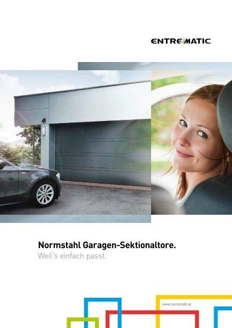 Normstahl Garagen-Sektionaltore