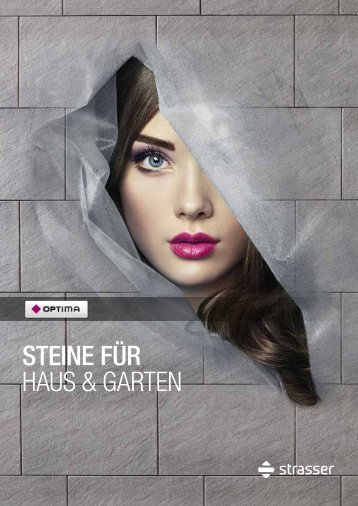 """Strasser """"Steine für Haus & Garten"""""""