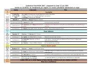 Conférence FuturVIEW 2003 : programme du jeudi 12 juin ... - ENSMA