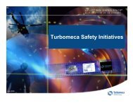 Turbomeca Safety Initiatives - Russ Spray, President and ... - IHST