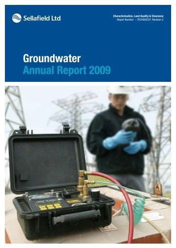 Groundwater Annual Report 2009 - Sellafield Ltd
