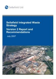 Sellafield Integrated Waste Strategy Version 2