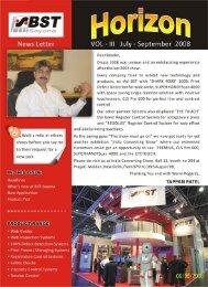 JUL - SEPT 08 , Vol III - BST Sayona Automations