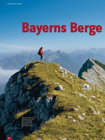 trekking im sich er- gänzenden Wechsel - Deutscher  Alpenverein