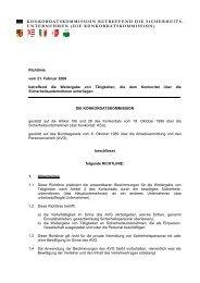 Richtlinie Weitergabe von Tätigkeiten Sicherheitsunternehmen