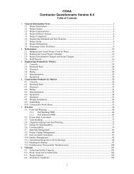 Contractors' Questionnaire - Construction Owners Association of ...
