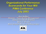 Don Hoffert and Mark Graham Brown - PIMA