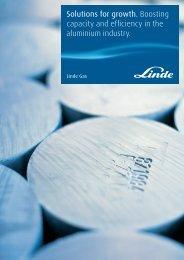 Aluminium Brochure - Linde Gas