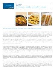 MAPAX® para Comida Preparada y Catering - Abelló Linde