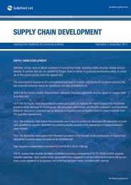 Learning Brief – September 2013 - Suppliers - Sellafield Ltd