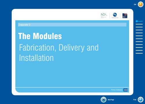 The Modules Storyboard