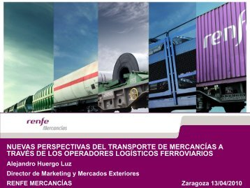 Renfe-Operadora - I International Congress On Rail Transport ...