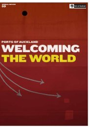 Download the Annual Review - Ports of Auckland