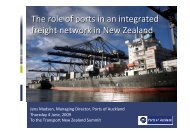 presentation slides - Ports of Auckland