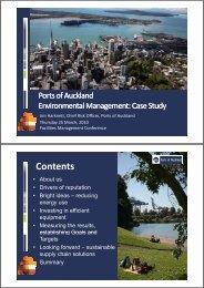 Download presentation slides - Ports of Auckland