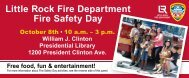 Little Rock Fire Department Fire Safety Day - Central Arkansas Water
