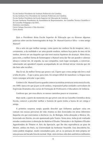 Homenagem ao Dr. Manuel Guerra e Silva - Exedra