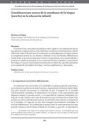 Consideraciones acerca de la enseñanza de la lengua ... - Exedra