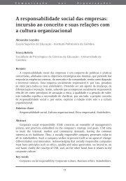 A responsabilidade social das empresas: incursão ao ... - Exedra