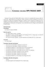 consenso hpv vacunas - fasgo