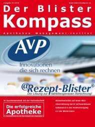 Ausgabe 01.2010 - Die erfolgreiche  Apotheke