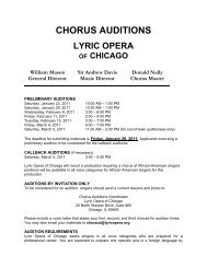 lyric opera chorus audition brochure - American Guild of Musical ...