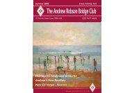 Download Magazine - Andrew Robson Bridge Club