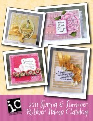 2011 Spring & Summer Rubber Stamp Catalog