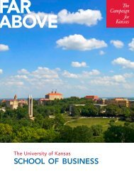 Download the school's case statement. - KU Endowment