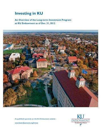 Investing in KU - KU Endowment