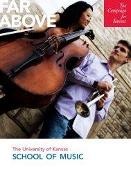 SCHOOL OF MUSIC - KU Endowment
