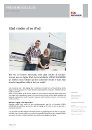Glad vinder af en iPad - ADRIA DANMARK