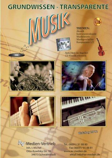 Grundwissen-Transparente Musik