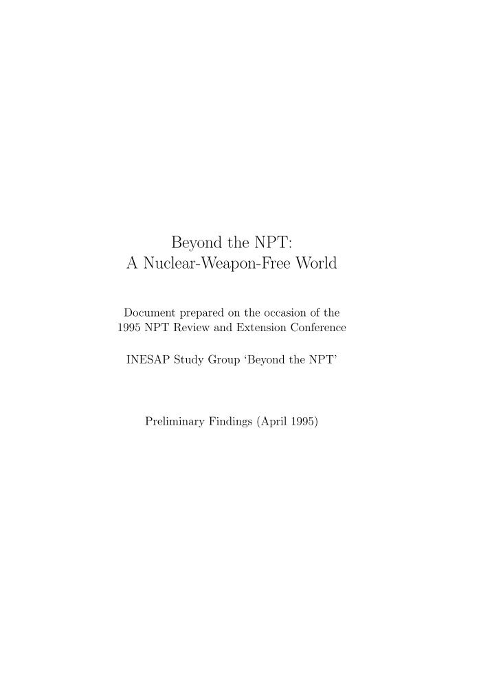 should canada ratify the npt essay The nuclear non-proliferation treaty is a mere farce in my opinion it is an 'ancient' and unjust contract not reflecting the present geopolitical structure drafted in 1968, it only gives the p-5 (permanent 5: usa, uk, russia, china and france) the right to hold nuclear weapons.