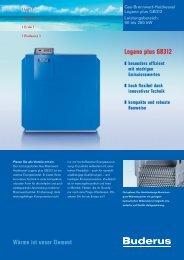 Logano plus GB312 - Buderus