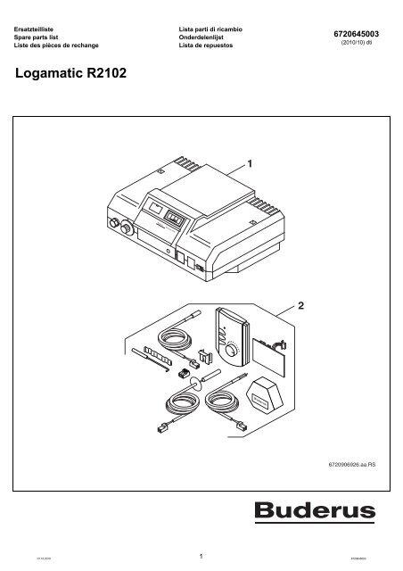 buderus ersatzteilliste s Efector Proximity Sensors