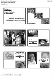 Aromapflege - Ostalb-Klinikum
