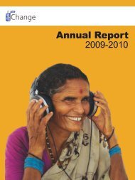 Annual Report - IT for Change