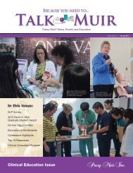 In this Issue: Clinical Education Issue - Passy-Muir