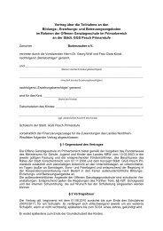 Vertrag über die Teilnahme an den Bildungs ... - Budenzauber