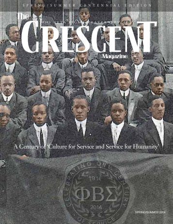 The CRESCENT Magazine SPRING/SUMMER 2014