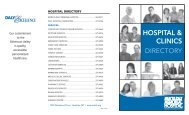 MDMH Directory 8x14.indd - Marcus Daly Memorial Hospital.