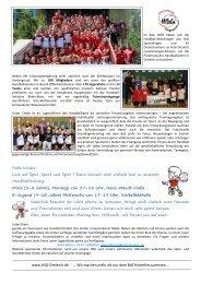aktuellen Nachwuchs-Flyer - HSG Dreieich